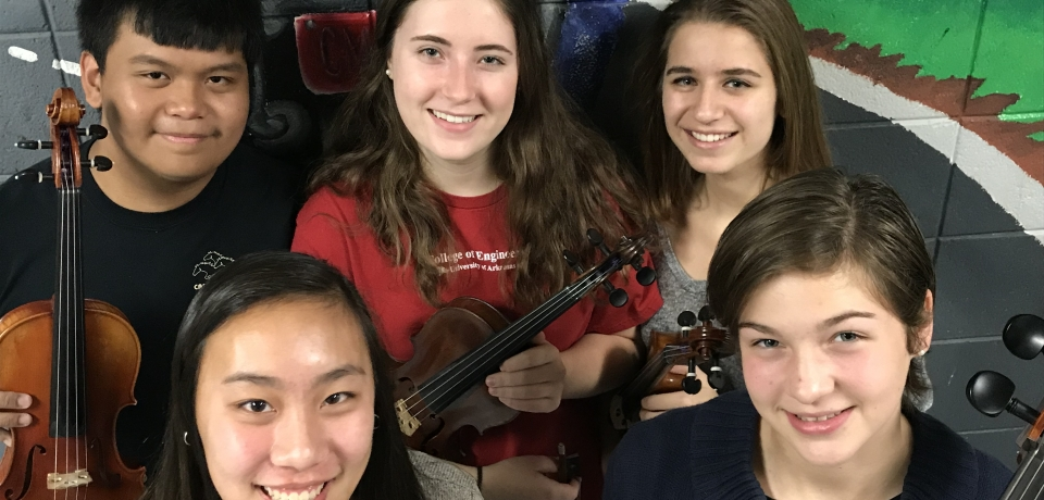 Orchestra Concerto Winners 2017