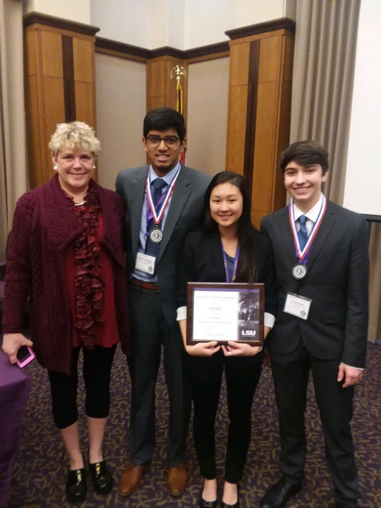 CMHS Takes 3 of the Top 5 Spots at LA Junior Science and ...