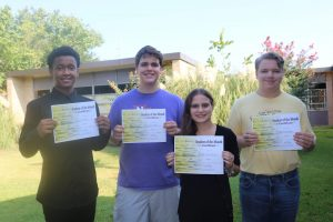 August Students of the Month - Caddo Parish Magnet High School